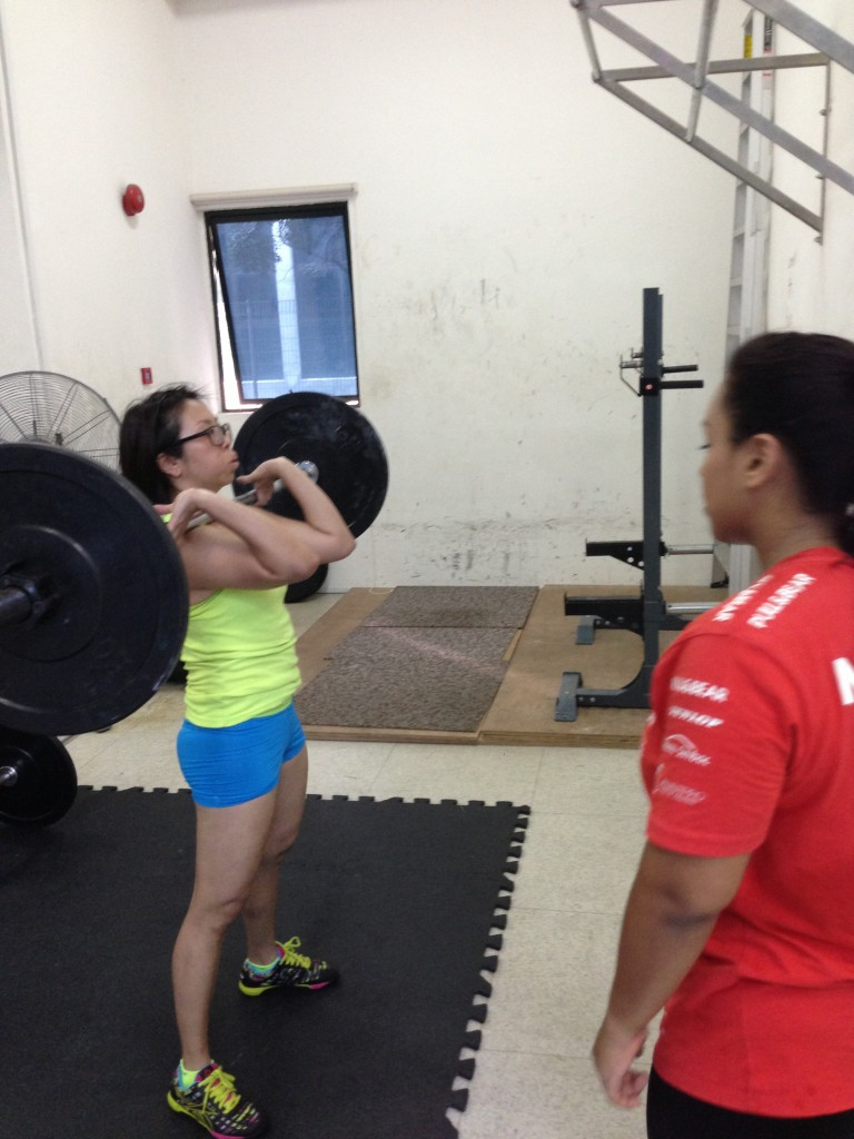 CrossFit Cleans & Jerk Practice