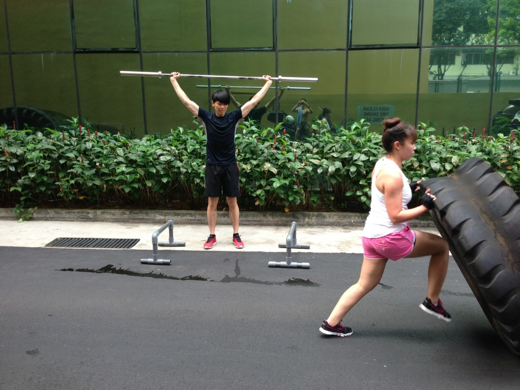 CrossFit Unit Outdoors
