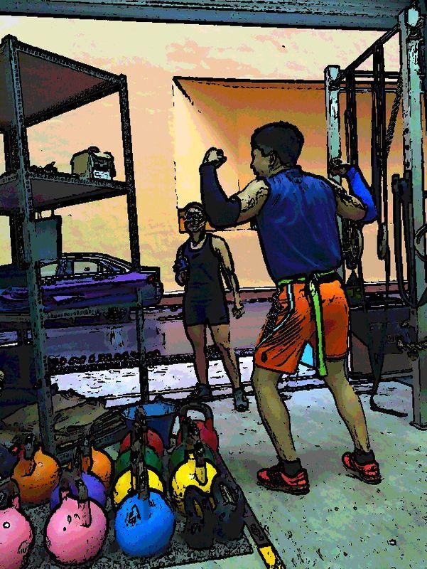 CrossFit Unit Pop Art