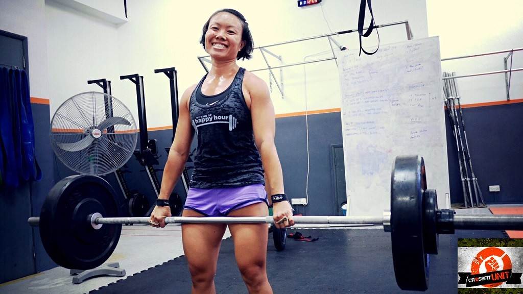 CrossFit Heavy Deadlifts With A Smile